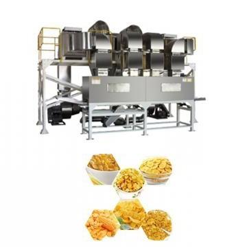 Puffed Extruded Breakfast Cereals Snacks Extruder Plant Corn Flakes Food Production Machine Line