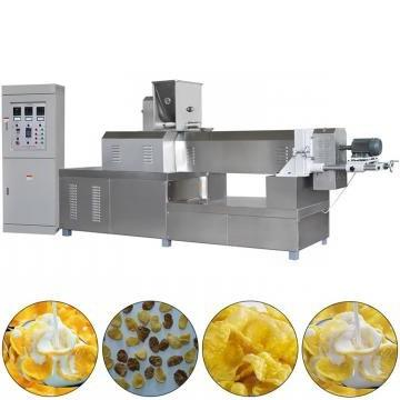 Automatic Twin Screw Extruder Sugar Coated Crunchy Corn Flakes Cereal Production Line