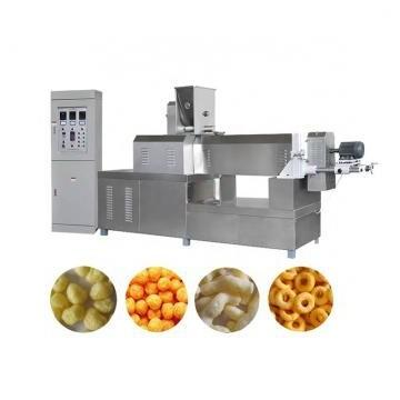 automatic core filling puffed snack food pillow making extruder machine