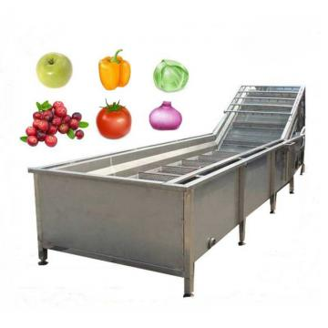 Vegetable Air Bubble Washing Peeling Brush Fry Potato Chips Cutting Frozen French Fries Strip/Sheet/Curved Shape Good Quality Small Large Middle Output Machine