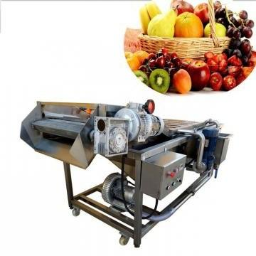 Industrial Ozone Sterilization Air Bubble Fruit/Vegetable Washing /Wash/Washer/Cleaning/Clean/Cleaner Machine for Food Processing with Ce Certificate