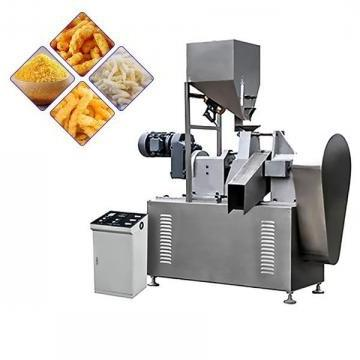 Automatic Stainless Rotary Head Extrusion Fried Kurkure Snack Cheetos Nik Naks Making Extruder Machine
