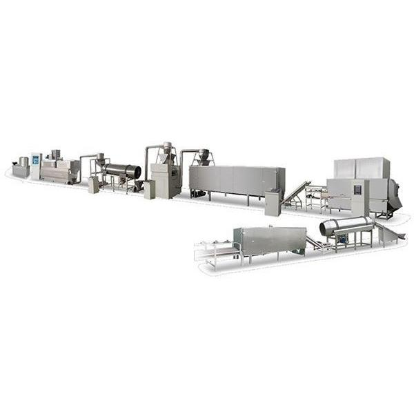 Breakfast Cereal Snack Food Extrusion Production Line/High Reflective Chocos Breakfast Cereal Production Line #2 image