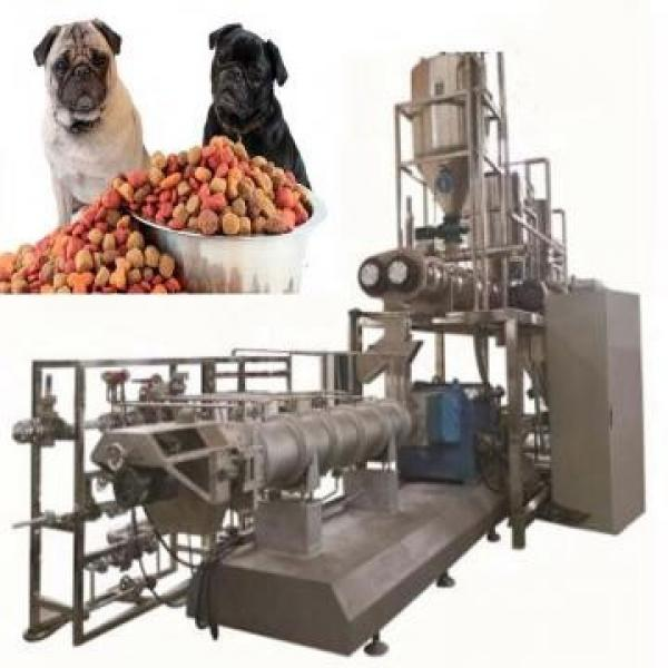 Chinese Shandong Shenrun Vegetable Corn Wheat Materials Dry Puffed Dog Kibbles Snacks Cat Food Fish Feed Manufacturing Equipment #2 image