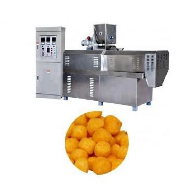 Grains and Cereal Puff Snack Extruder / Wheat Flour Snacks Extruder / Extruded Snacks Food Making Machine #1 image