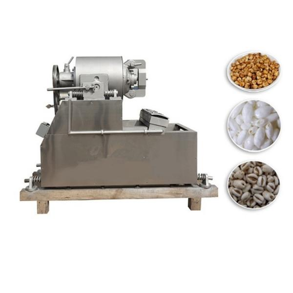 Grains and Cereal Puff Snack Extruder / Wheat Flour Snacks Extruder / Extruded Snacks Food Making Machine #2 image